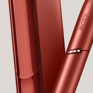 IQOS 3 DUO red device